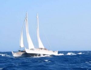 Pahi 52 sailing (Hecate)
